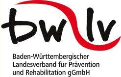 Logo vom Baden-Würtenmbergischer Landesverband für Prävention und Re-Habilitation.