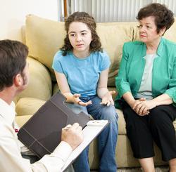 Beratung mit einer jungen Person